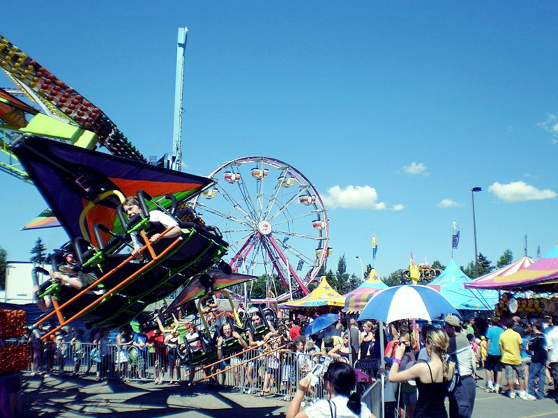 What is special about Klondike Days Festival